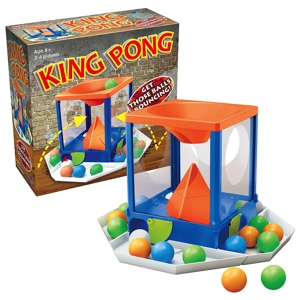 King Pong Board Game