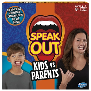 Speak Out: Kids vs Parents Board Game