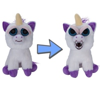 Feisty Pets Glenda Glitterpoop Unicorn Plush